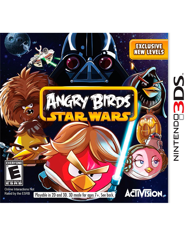 ds 3d angry birds star wars