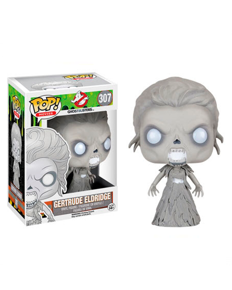 pop ghostbusters 307 gertrude eldridge 7626