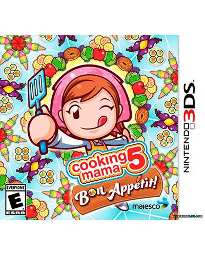 ds 3d cooking mama 5 bon appetit