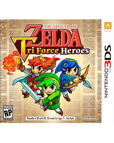 ds 3d legend of zelda tri force