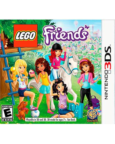 ds 3d lego friends