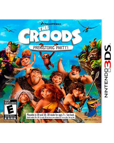 ds 3d the croods prehistoric party