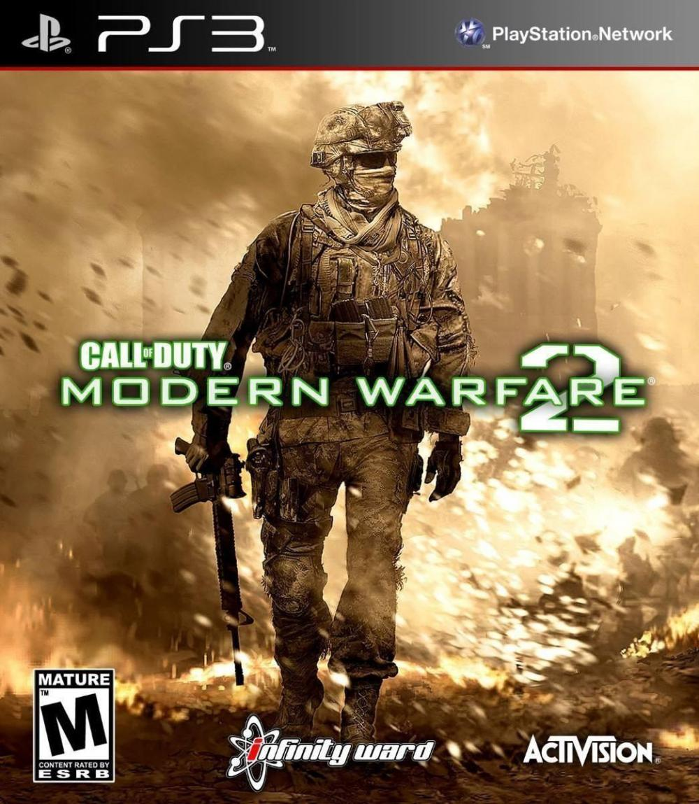 sony 3 call of duty modern warf  2