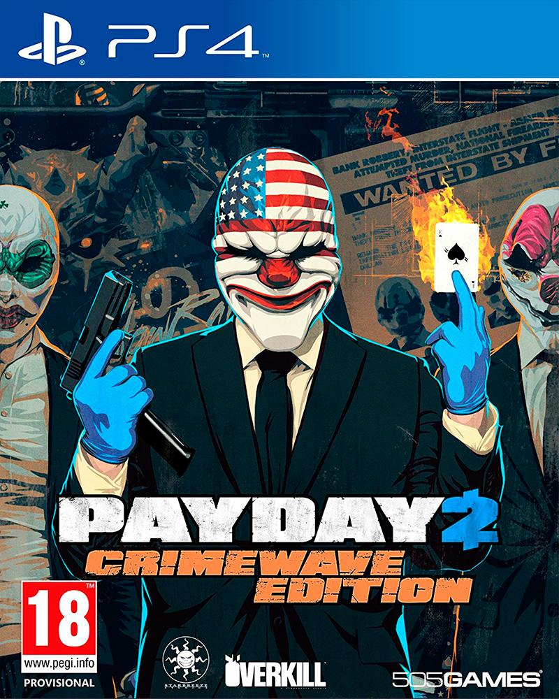 sony4 payday 2 the big score