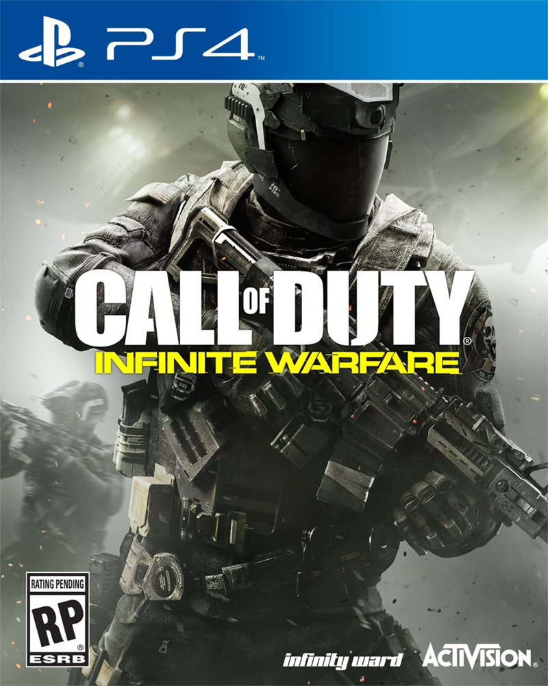 sony4 call of duty infinite warfare new