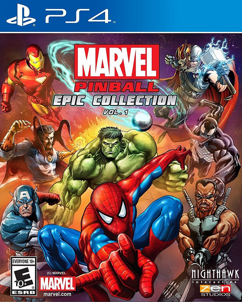 sony4 marvel pinball epic collection