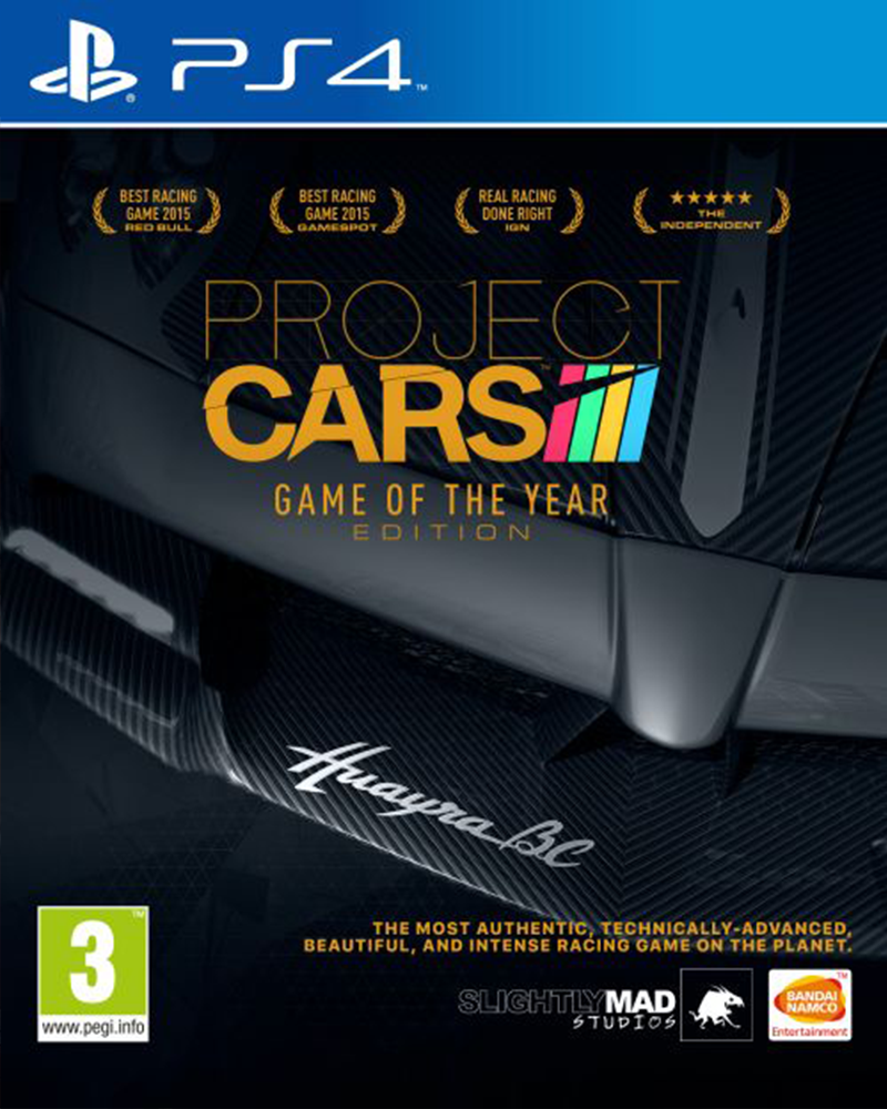 sony4 project cars complete edition