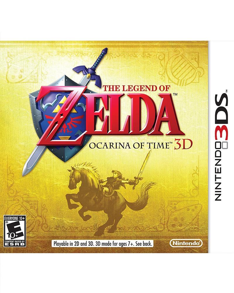 ds 3d legend of zelda ocarina of time