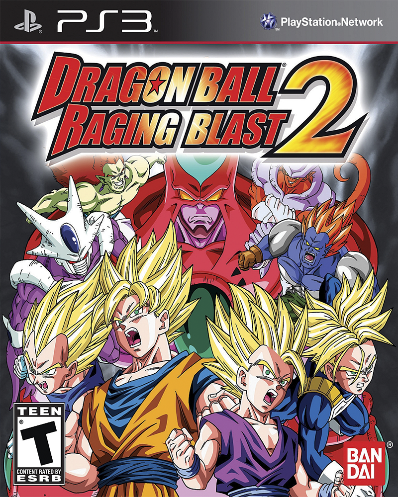 sony 3 dragon ball z raging blast 2