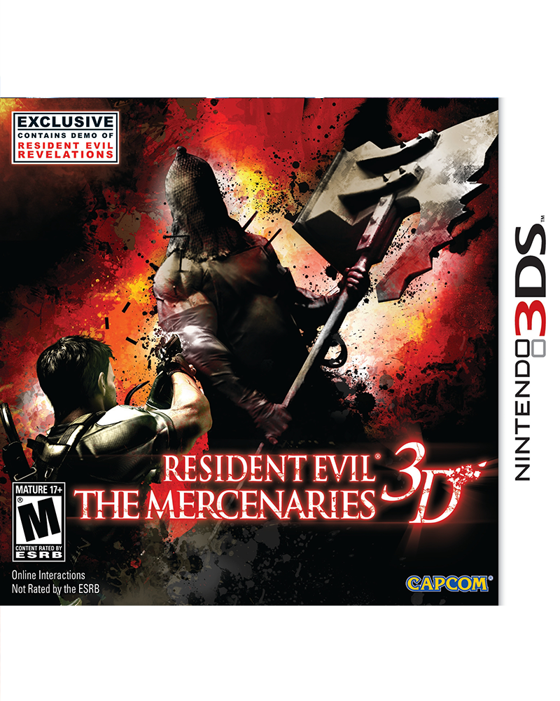 ds 3d resident evil mercenaries