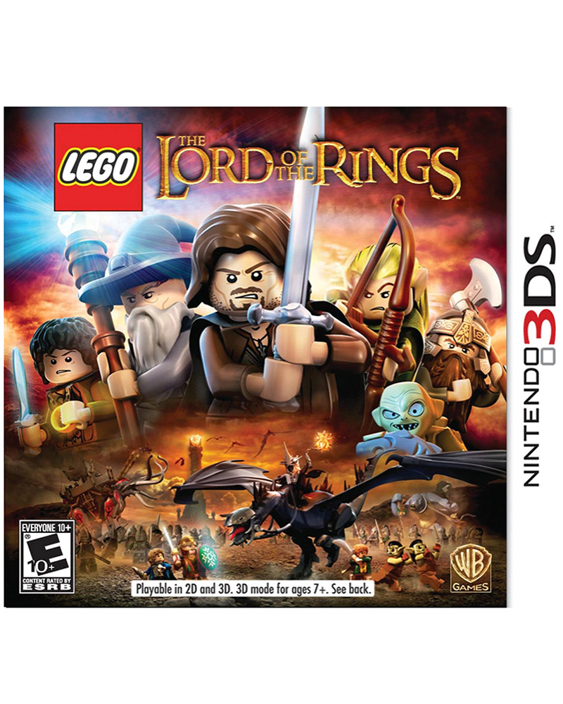 ds 3d lego the lord of the rings
