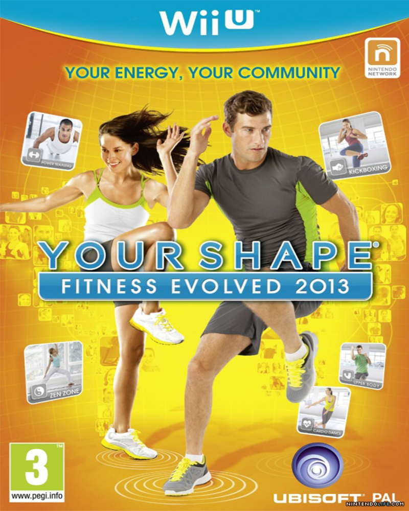 wii u your shape fitness