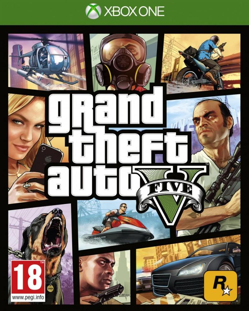 xbox one gta v  five
