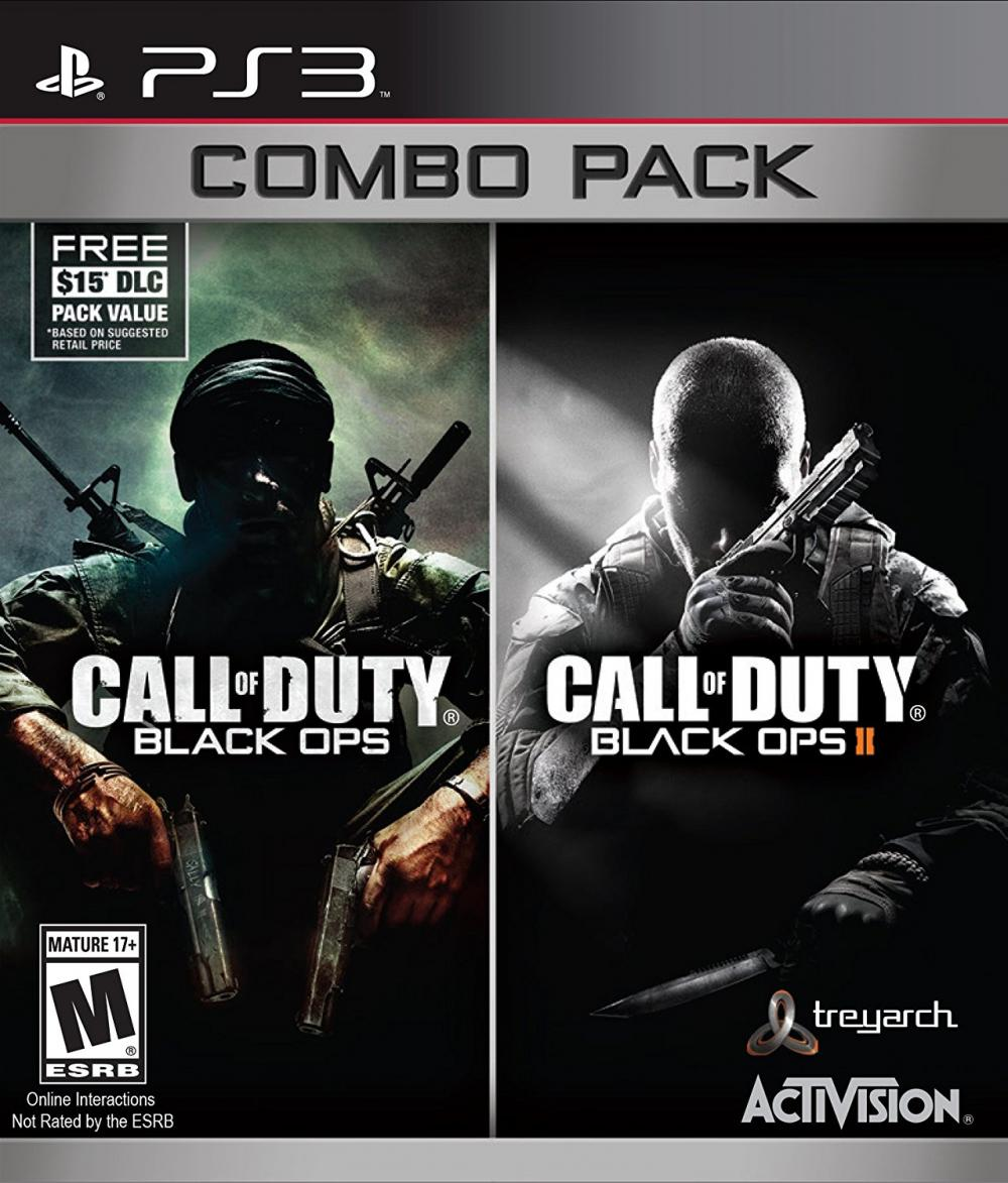 sony 3 call of duty black ops 1 2 pack