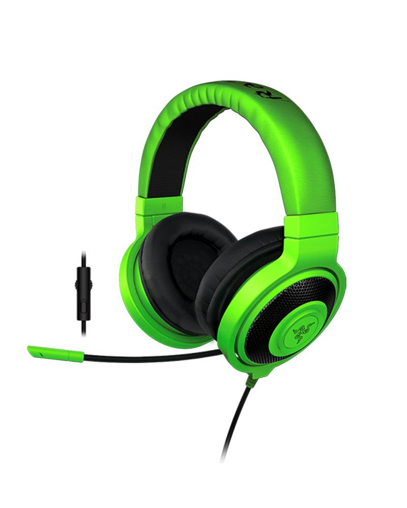 razer headset kraken pro green 01380200