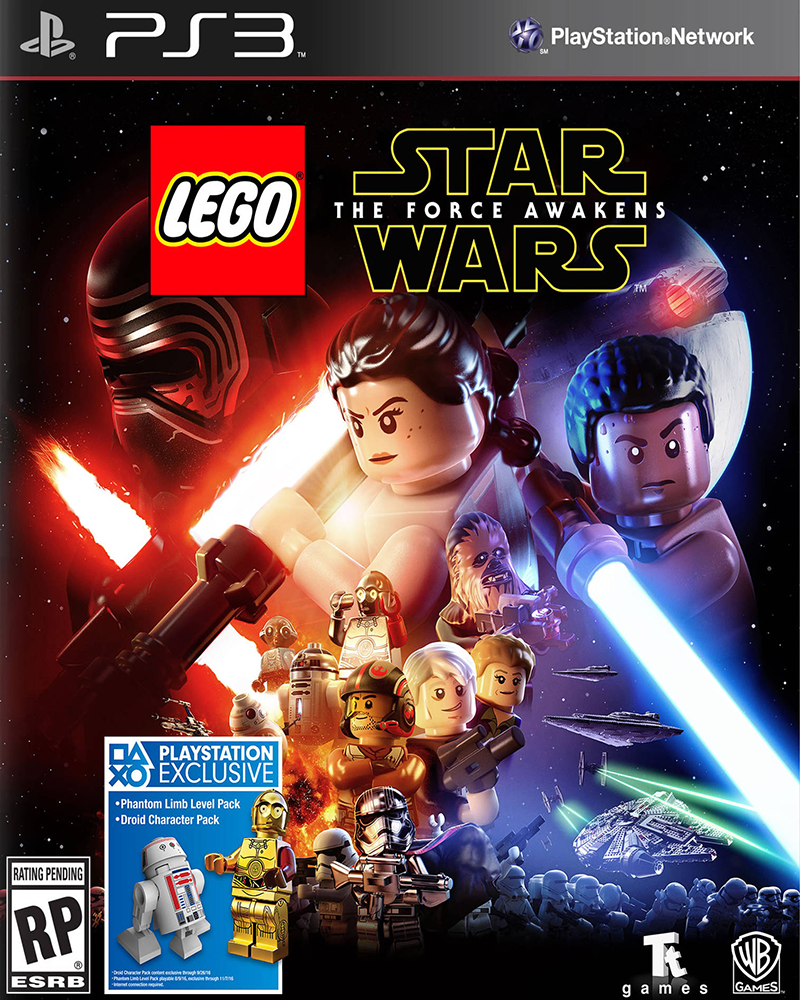 sony 3 lego star wars force awakens new