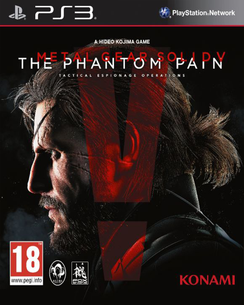 sony 3 metal gear solid 5 phanton