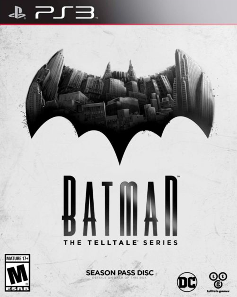 sony 3 batman the telltales series