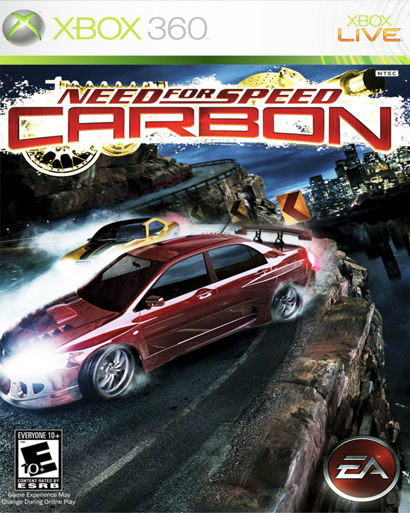 xbox 360 need for speed carbon