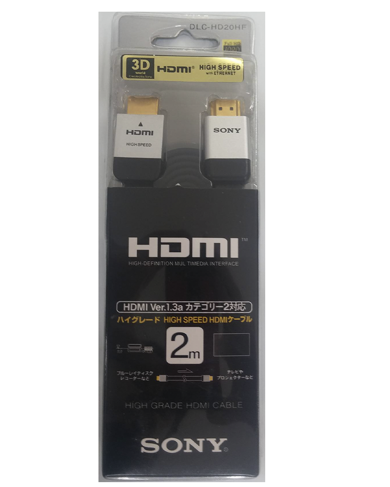 sony4 acs cabo hdmi sony dlc hd20hf