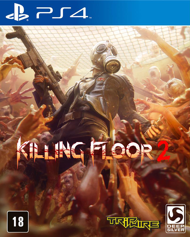 sony4 killing floor 2 new