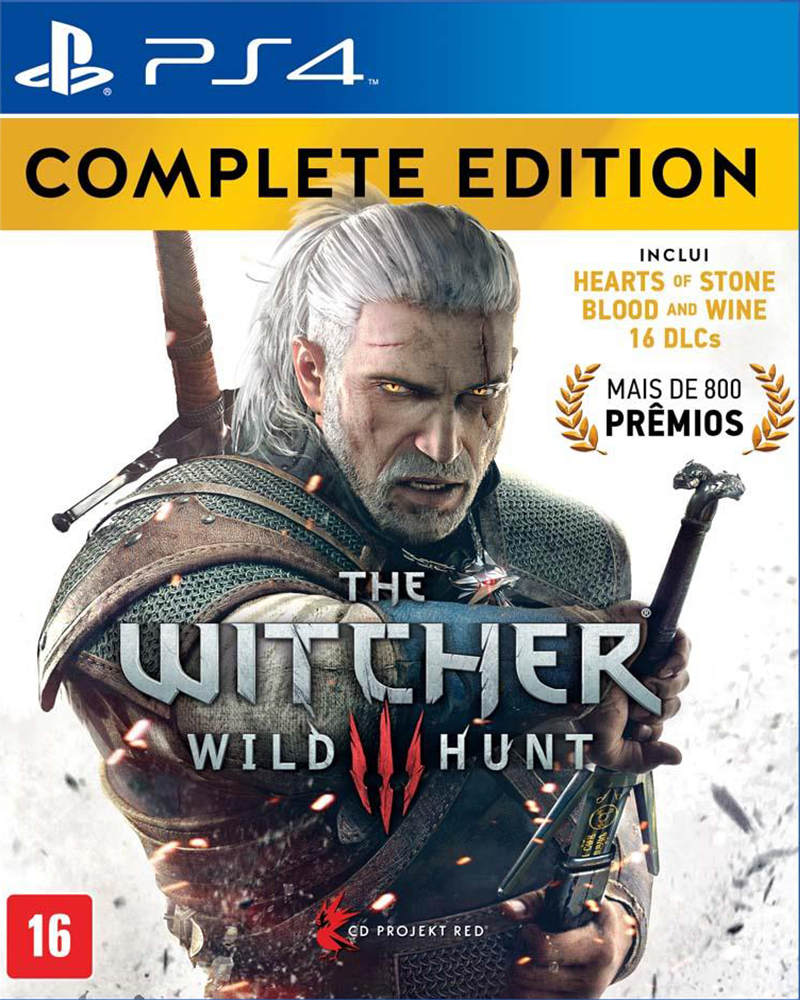 sony4 the witcher 3 wild hunt compl new
