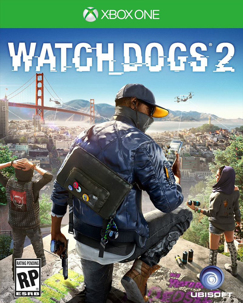 xbox one watch dogs 2 new