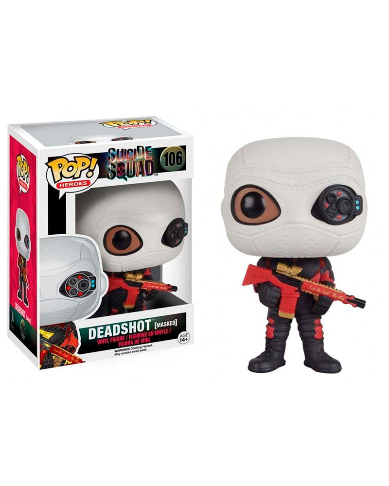 pop suicide squad  98 deadshot 8361