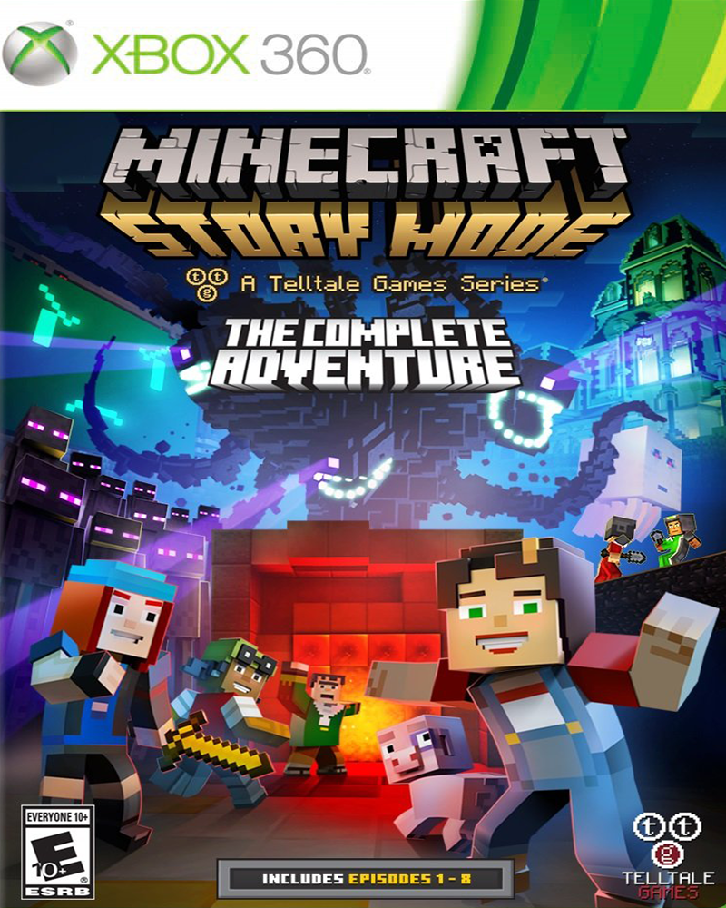 xbox 360 minecraft story mode adven