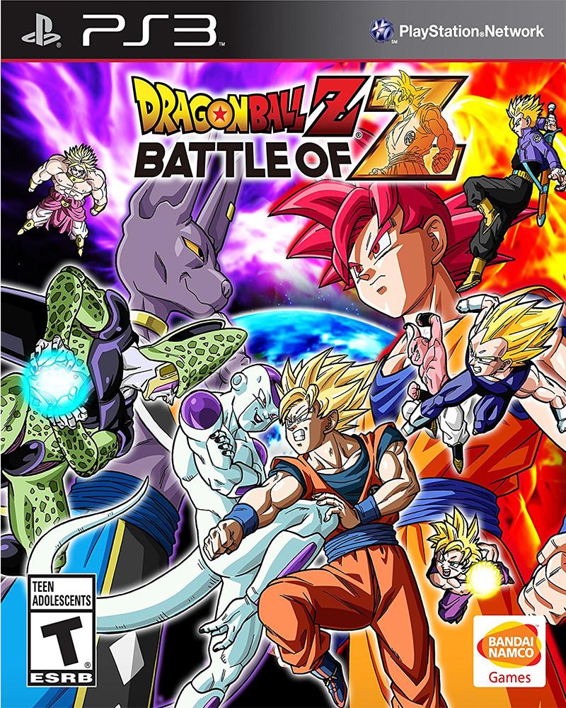 sony 3 dragon ball z battle of z