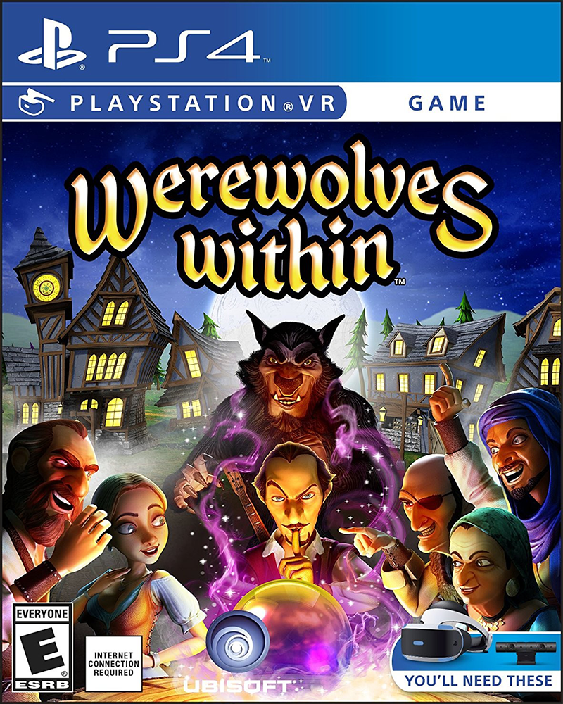 sony4 vr werewolves within