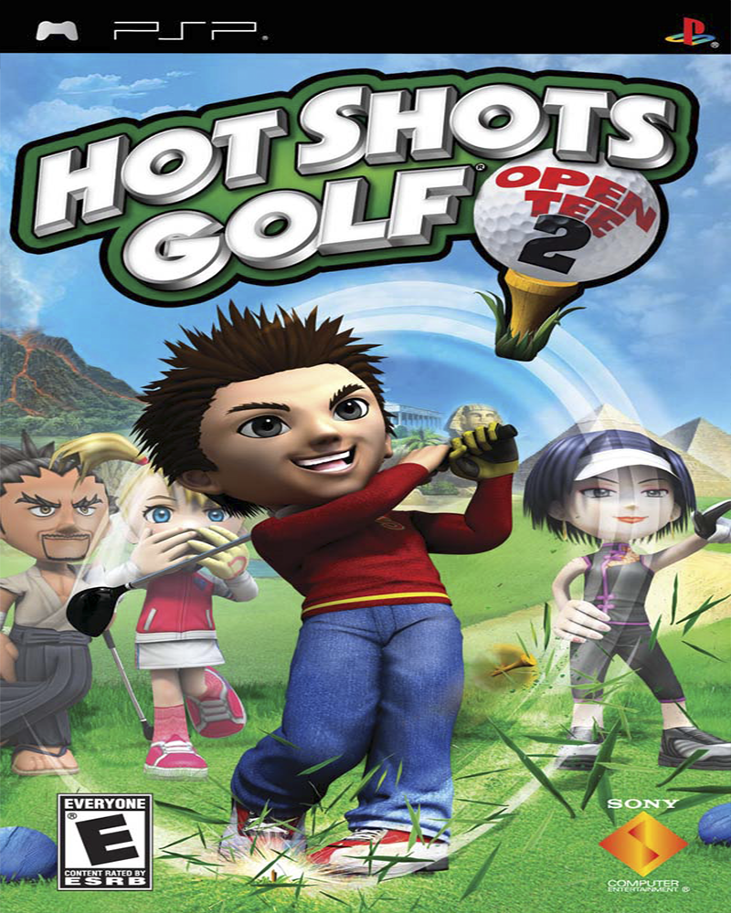 psp hot shots golf