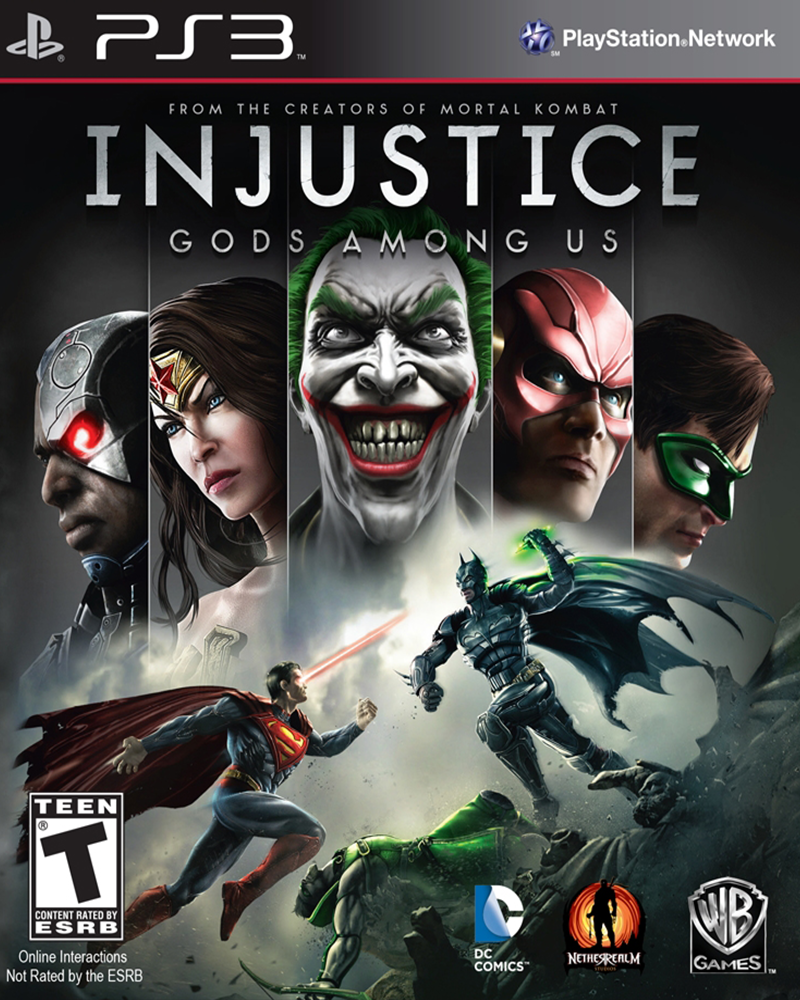 sony 3 injustice gods among us