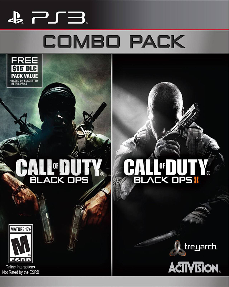 sony 3 call of duty black ops 1 2pack