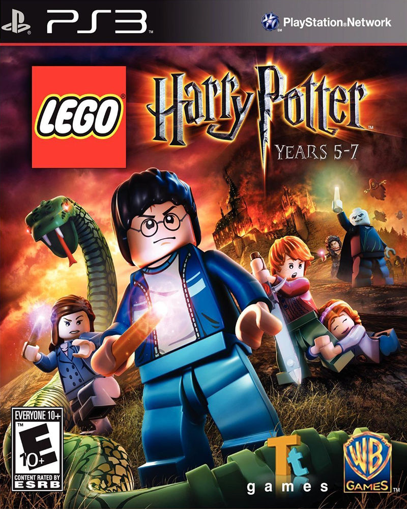 sony 3 lego harry potter years 5 7