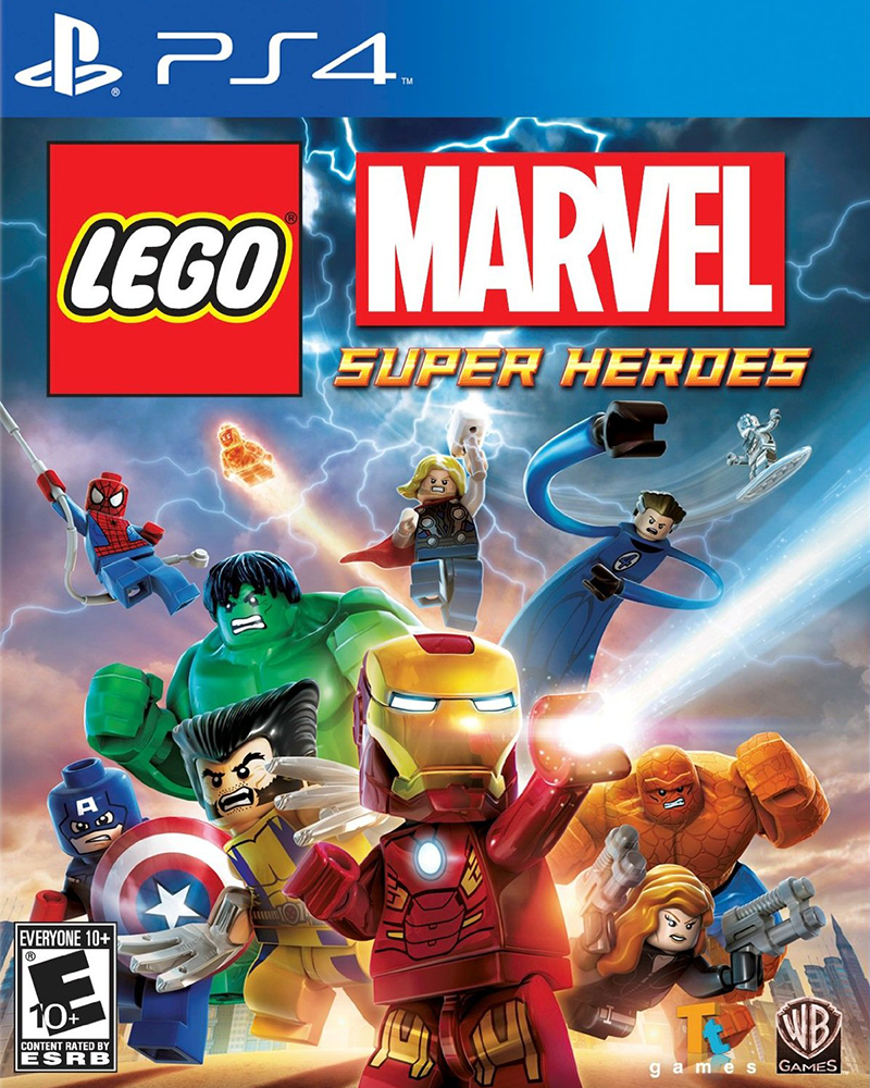 sony4 lego marvel super heroes