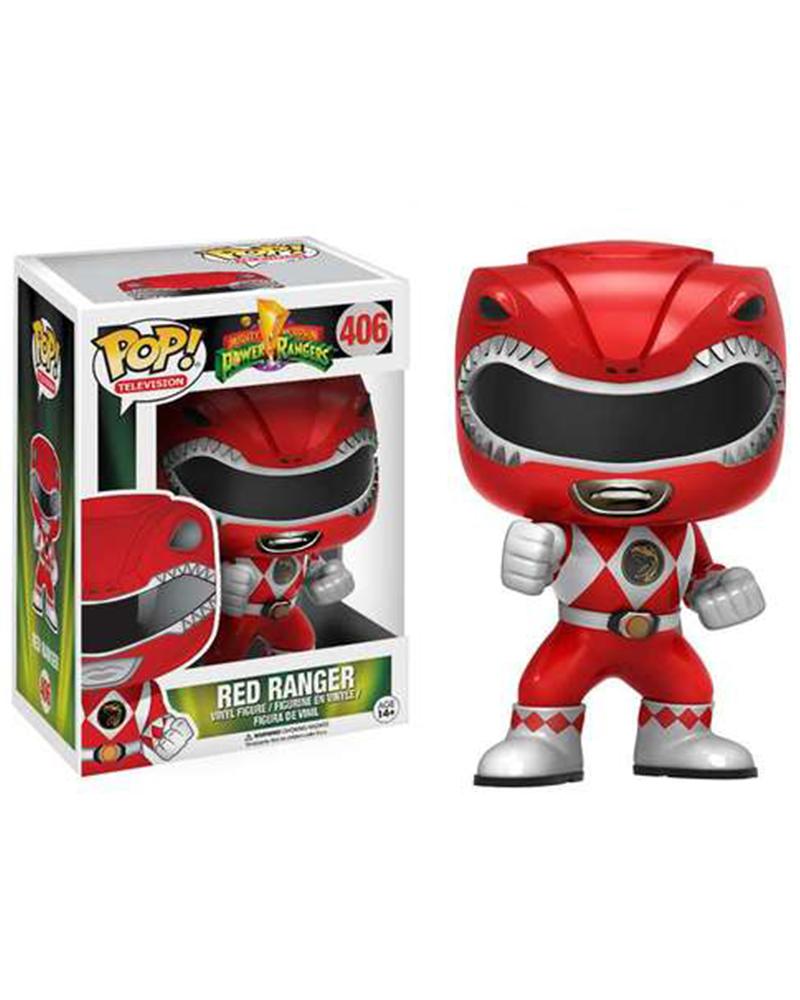 pop power rangers 406 red ranger 12272