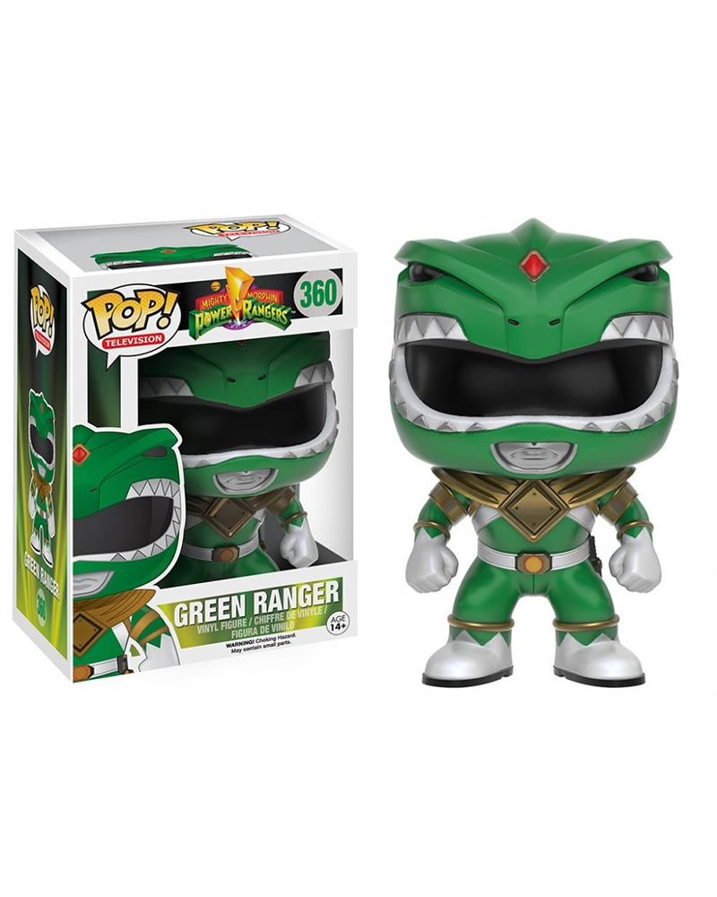 pop power rangers 360 green ranger 10308