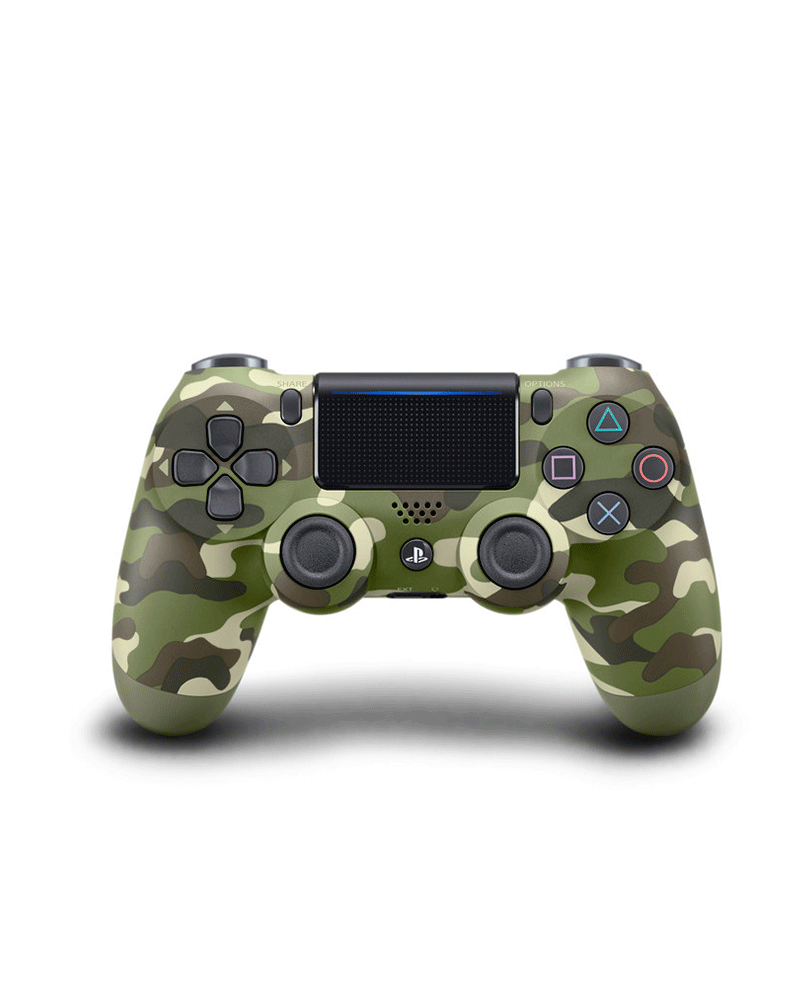 sony4 acs joy  dual camuflado green usa
