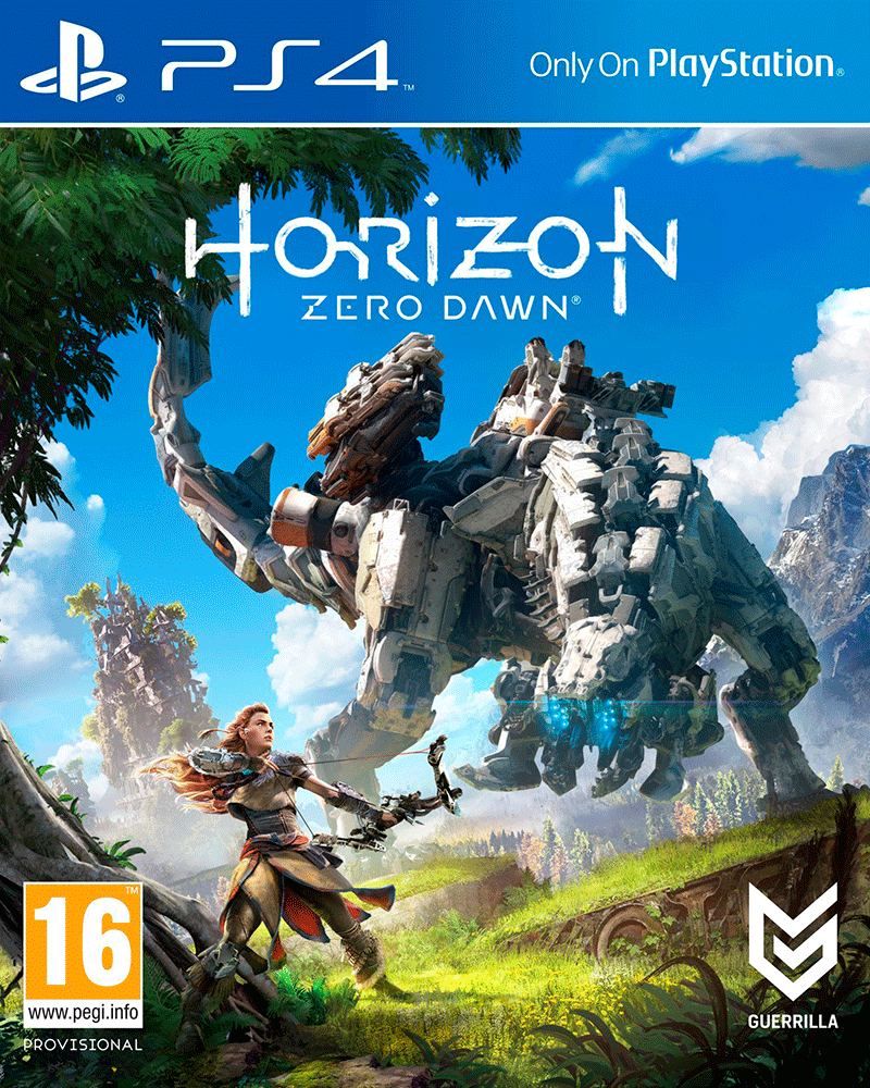 sony4 horizon zero dawn new oem