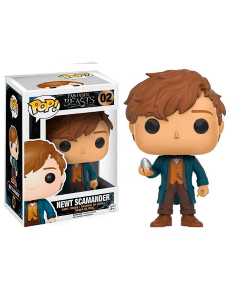 pop fantastic beasts  02 newt scamander 10405