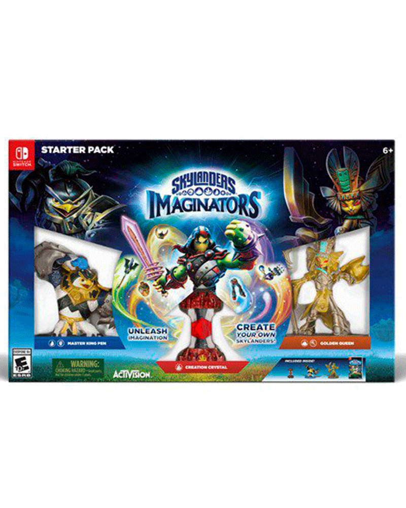 switch skylanders imaginators start pack
