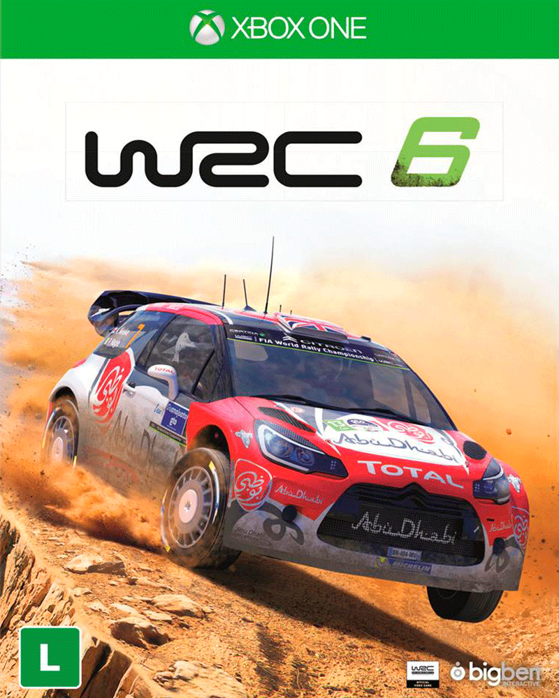 xbox one wrc 6 racing new