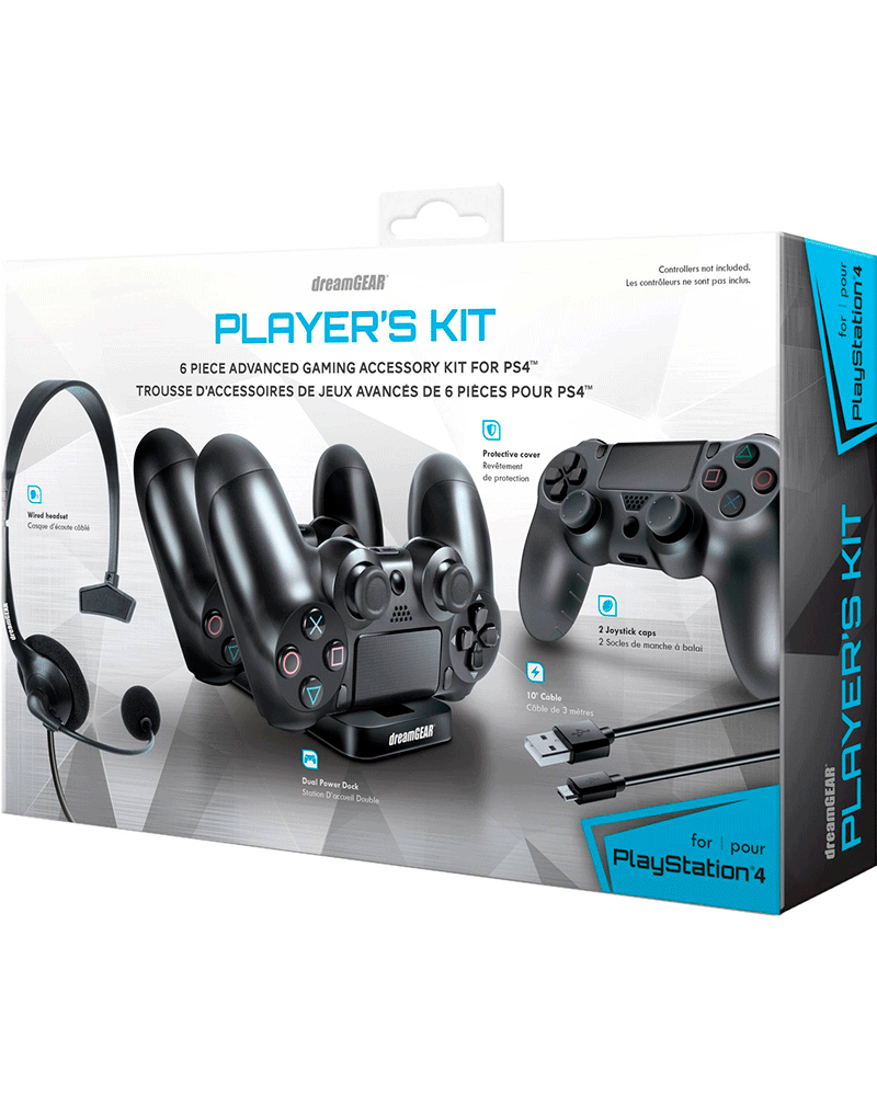 sony4 acs kit gamer dreamgear 06436