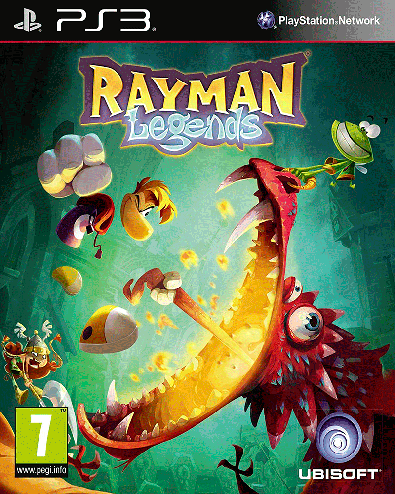 sony 3 rayman legends