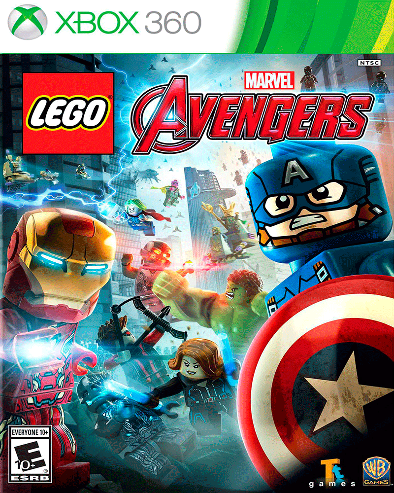 xbox 360 lego marvel avangers