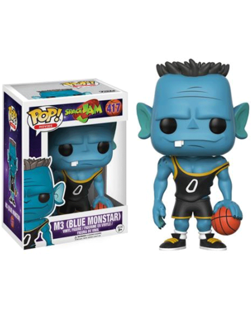 pop space jam 417 m3  blue monstar  12432