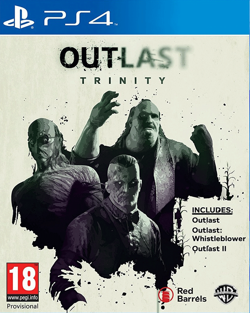 sony4 outlast trinity new
