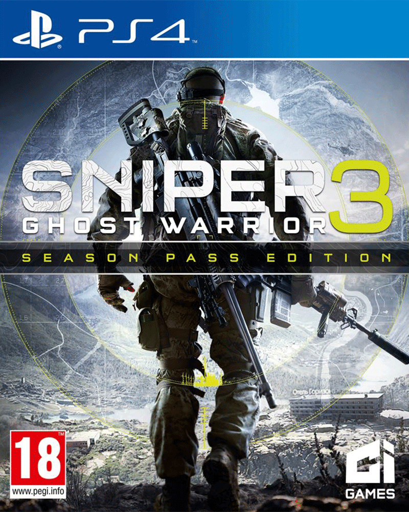 sony4 sniper ghost warrior 3