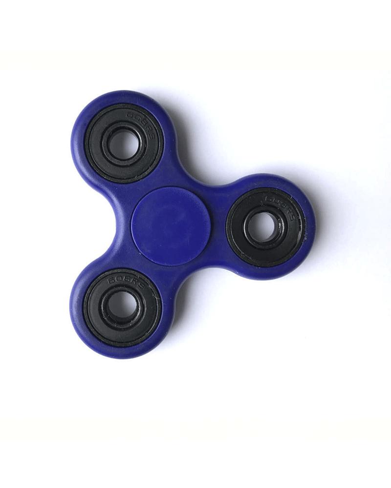 hand spinner azul